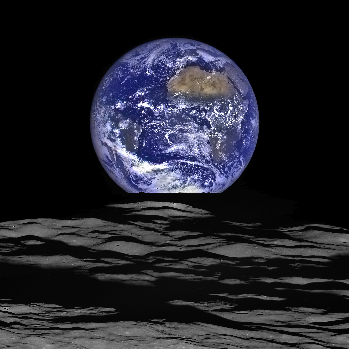 23.2 NASA's Lunar Reconnaissance Orbiter captured a unique view of Earth from the spacecraft's vantage point in orbit around the moon.